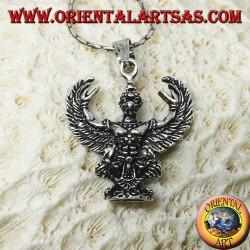 Silver pendant of Thai Garuda