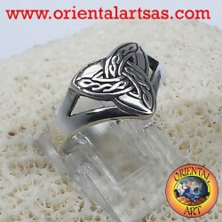 Ring Triquetra Celtic knot
