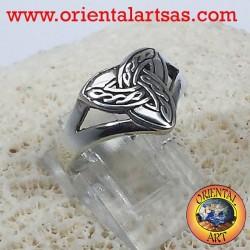 Ring Triquetra keltischer Knoten