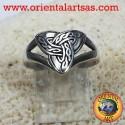 Anello Triquetra nodo celtico