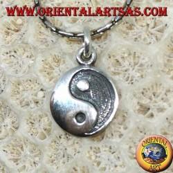 Ciondolo in argento yin yang Tao a bassorilievo , Il Taijitu (T'ai Chi T'u)