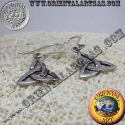 Earring Celtic knot triquetra