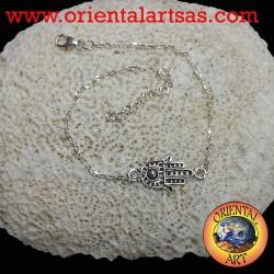 bracelet hand of Fatima silver