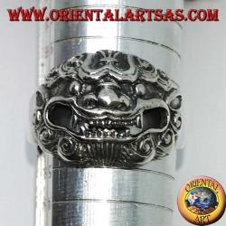 Серебряное кольцо Баронга, король духов