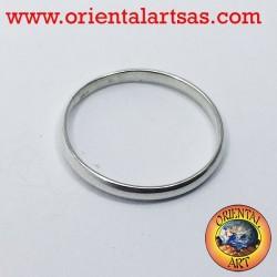 Silber Ehering 2 mm Anschlagring
