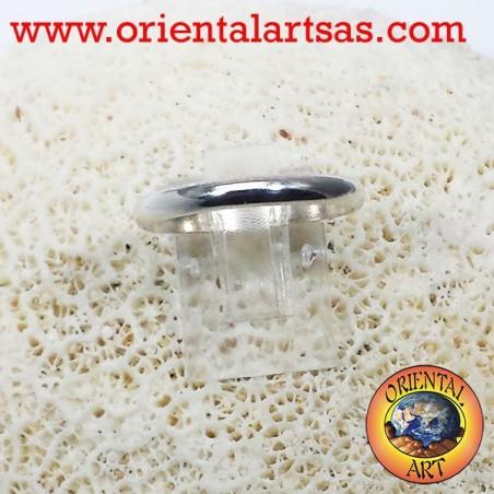 fedina in argento 3 millimetri ferma anello