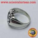 anello simbolo Om in argento