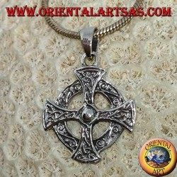 Pendant in silver 925 Celtic cross