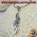Silver pendant Maori symbol of friendship