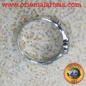Anello Claddagh in argento