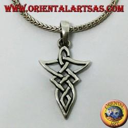 Silber Wikinger Knoten Anhänger
