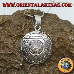 Silver pendant of the Talisman of the Sacred Union