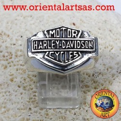 Harley Davidson ring smooth 925 silver
