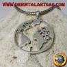 925 silver pendant the earth our planet Earth