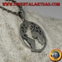 925 silver pendant the earth our planet Earth (small)