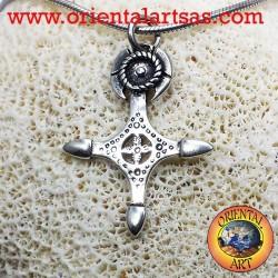 Croce Tuareg in argento