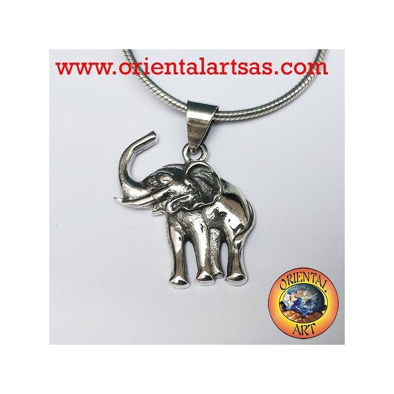Ciondolo Elefante in argento