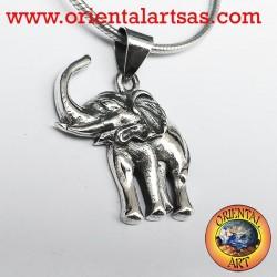 Silver pendant Elephant