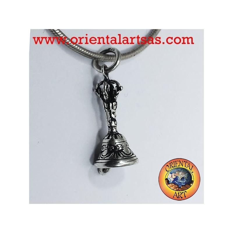 Bell pendant or Gantha silver Tibetan