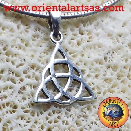 Ciondolo nodo celtico di Tyrone in argento p,