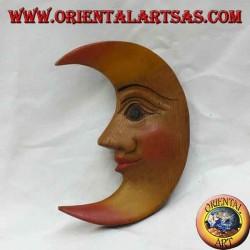Lune murale de couleur chaude (petite)