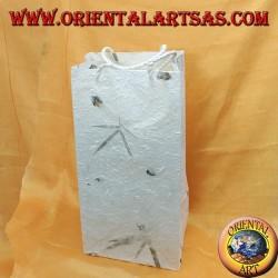 Handmade rice paper and petal envelopes (large long)