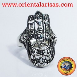 Ring Hand of Fatima silver
