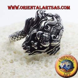 Ring Dragon Nepalese Silver