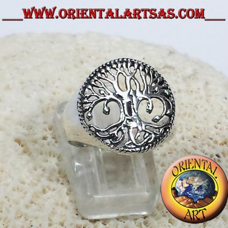 925 silver ring of the tree of life