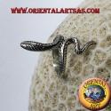 Anello cobra in argento 925