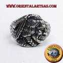 Anello Indiano nativi in argento Lakota, Apache, Sioux