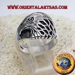 Anello Aquila in argento