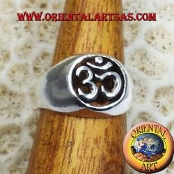 Om Silber Ring durchstochen Silber