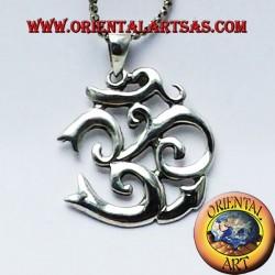 om pendant in silver 925