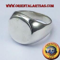 шевалье кольцо круглого серебра