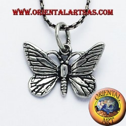 Silver pendant Butterfly 925