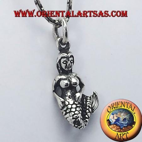 ciondolo Sirena in argento