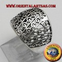 perforated band ring