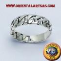 fedina catena rigida in argento