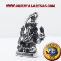 ciondolo Ganesh statuina in argento