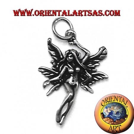 fairy pendant in silver 925