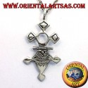 ciondolo croce tuareg Inabagret in argento