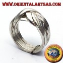 Fede turca otto fili in argento