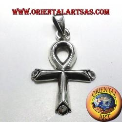 ankh égyptien pendentif croix (amour de la Croix) Argent