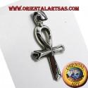 ciondolo croce egizia ankh ( croce dell'amore ) in argento