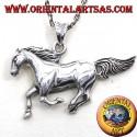 pendant silver horse race