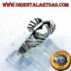 Silver Claddagh Ring 925