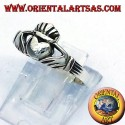 Anello Claddagh in argento 925