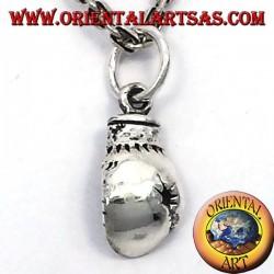 Ciondolo guantone da pugile in argento