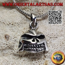 Star Wars Darth Vader style skull pendant in silver